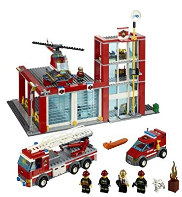 Lego City Fire Station 60004 by LEGO