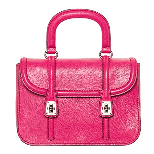 Miu-Miu-Womens-Madras-Textured-Shoulder-Bag-Fuchsia