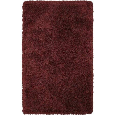 "Better Homes & Gardens Thick and Plush Nylon Bath Rug Collection, 24""x60"", Rose Wine from Better Homes & Gardens"