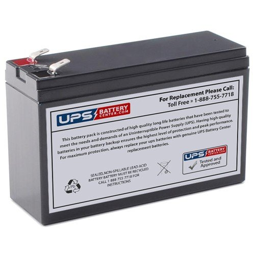 12V 6Ah F1 Terminal Sealed Lead Acid Replacement Battery for CSB HR1224W