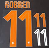 ROBBEN #11 Holland Away 2015-2016 Soccer Jersey Netherlands Football Shirt Print Transfer Name Number Set Adults