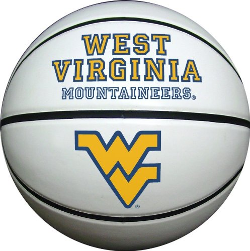 West Virginia Mountaineers Official Size Synthetic Leather Autograph (Wvu Basketball)