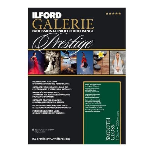 Ilford GALERIE Smooth Gloss Inkjet Paper, 310 gsm, 8.5x11