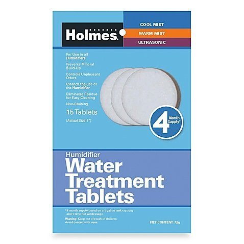 Holmes Humidifier Water Treatment Tablets, Pack of 15, 1' tablet