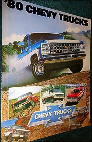 Original 1980 Chevy El Camino Sales Catalog
