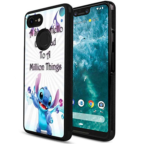 - DISNEY COLLECTION Excited Stitch Cover Case Fit for Google Pixel 3 XL (2018) [6.3 Inch]