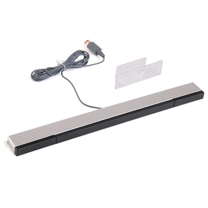 Rayos Infrarrojos Barra De Sensores Con Cable Para Nintendo Wii: Amazon.es: Electrónica