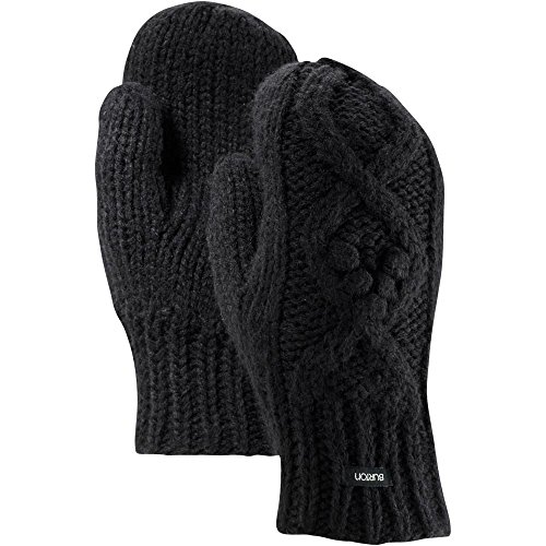 Mittens, True Black, One Size ()