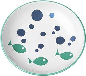 PetRageous Bubble Fish Saucer Shimmer, 2.5 oz/5