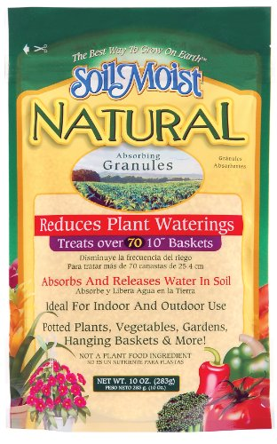 Soil Moist SMN10 10-Ounce Natural Absorbing Granules