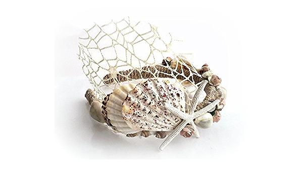 Sea Shell Hair Comb Beach Seashells Hair piece Beach Wedding Hair comb Mermaid Hair Accessories Bridal Bridesmaid Headpiece