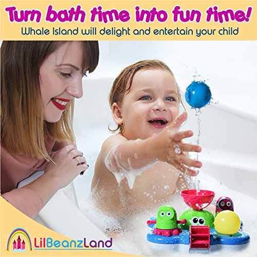 Baby Bath Toys for Kids – Whale Island Bathtub Toys – Best Baby Bath Toy Set – Bathtime Fun Tub Toys – Water Bath Toys with Bathtub Toy Organizer – Battery Operated Spray Water Pump Fountain Age 1 2 3 post thumbnail