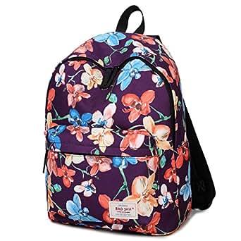 BAOSHA Printed Girls School Backpack Shoulder Bag Student Bookbag Casual Daypack