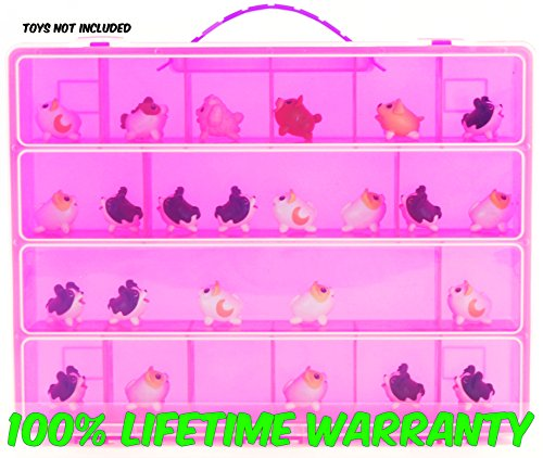Life Made Better Toy Storage Organizer. Fits Up To 15 Chubbies Toys. Compatible With Chubby Puppies TM Mini Figures And Accessories …