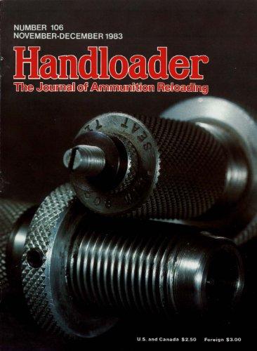Boattail Bullet (Handloader Magazine - November 1983 - Issue Number)