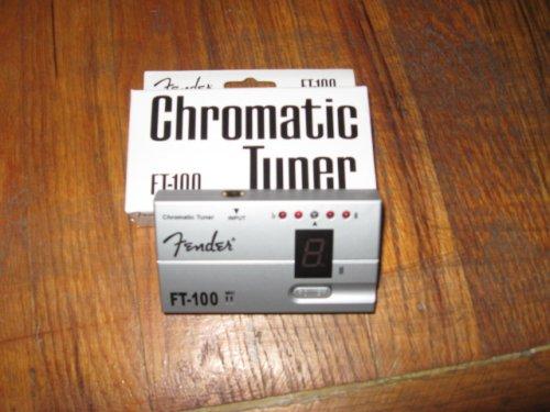Fender FT-100 Chromatic Guitar Bass Tuner