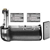 Neewer NW-5D Mark IV 2.4G Wireless Remote Control Replacement Battery Grip for Canon BG-E20 and 2 Pieces 2000 mAh Replacement Battery for LP-E6, Compatible with Canon EOS 5D Mark IV DSLR Camera Body
