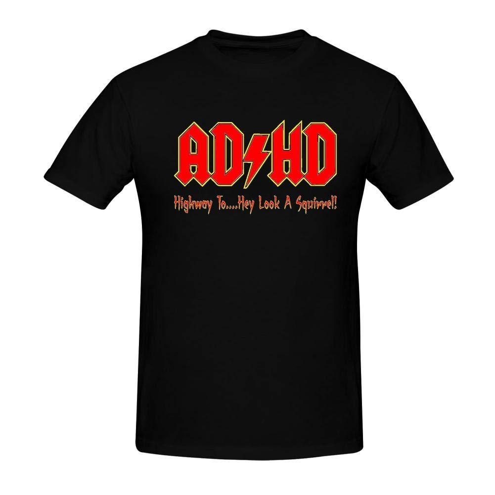 ADHD Highway to Hey Fashion,Custom Mens Short Ssleeves