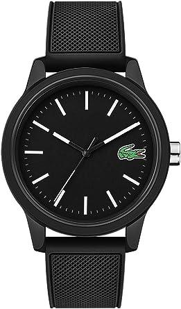 Lacoste Reloj Analógico para Hombre de Cuarzo con Correa en Silicona 2010986: Amazon.es: Relojes
