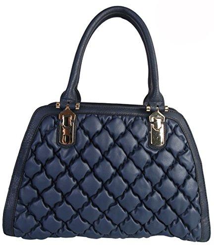 Diophy Quilted Satchel Shoulder Removable Adjustable Shoulder Strap Purse Bag Women Woman Ladies Handbag Accented...