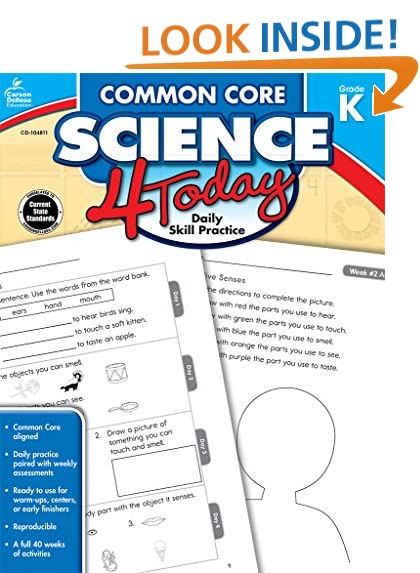 Common Core Kindergarten: Amazon.com