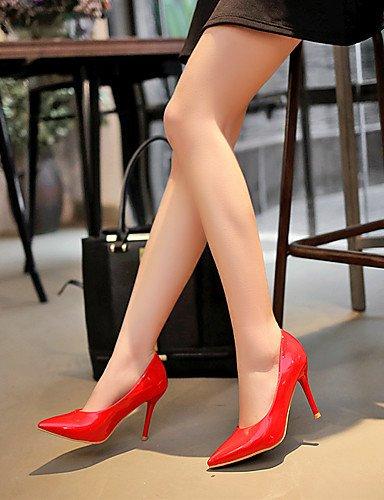 GGX/Damen Schuhe Frühling/Sommer/Herbst/Winter Heels/Basic Pumpe/spitz Toe Office Karriere/Party Abendkleid/Kleid black-us3.5 / eu33 / uk1.5 / cn32