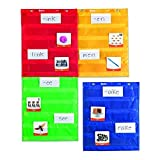 LEARNING RESOURCES MAGNETIC POCKET CHART SQUARES (Set of 3)