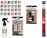 Tim Holtz Distress Oxide Set with 24 Ink Pads, Blender Tools, Extra Pads, Sprayer, Craft Sheet and Color Chart (53 Pieces)