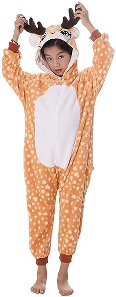 Silver Basic Pijama Unicornio Animal Niño Unisexo Cosplay Traje ...
