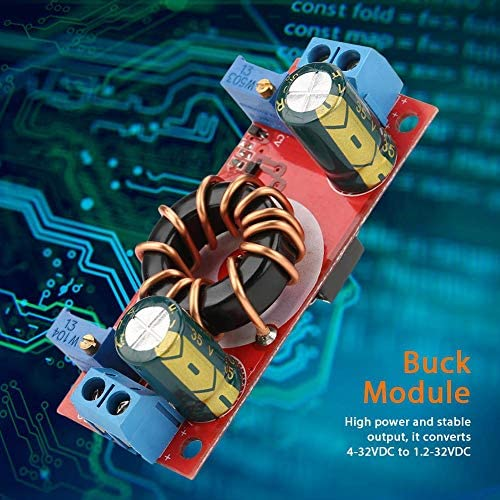 FTVOGUE Convertisseur DC-DC Module dalimentation R/égulateur de Tension Convertisseur Buck Convertisseur CC CV 4-32 V vers 1,2-32 V Module dalimentation