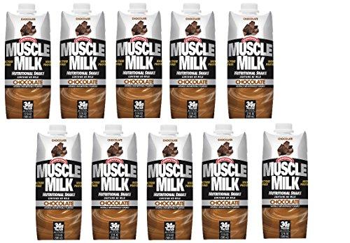 Muscle Milk Chocolate Non-Dairy Protein Shake (11 fl. oz....