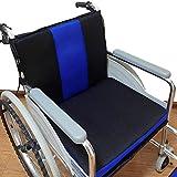 ZHANGZHIYUA Rollstuhlkissen Anti-Dekubitus-Rückenkissen, zur Schmerzlinderung bei Rückenschmerzen, Ischias, Steißbeinschmerzen,Sorgt Für Gerade Körperhaltung