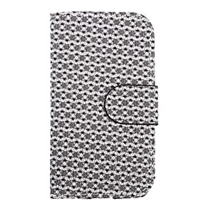 DUR Glint Pattern PU Leather Full Body Case for Samsung Galaxy S4 i9500(Assorted Color) , Pink