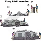 20 x 10 x 80 12-Person Instant Cabin Family Tent