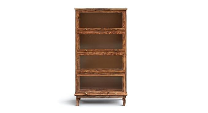 Urban Ladder Malabar Barrister Bookshelf (Teak)