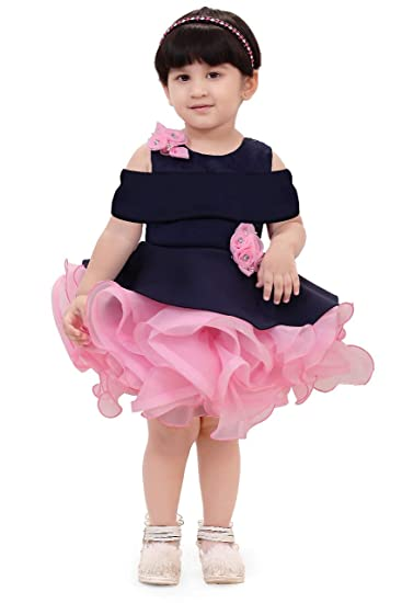 8f6a3b213 Apna Party Dress Party Frock for Kids Baby Multicolour (3-4 Years ...