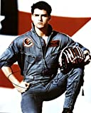 Tom Cruise - Top Guns - Autographed 11x14 inch Photo with 3x4 inch Proof Picture from signing MINT