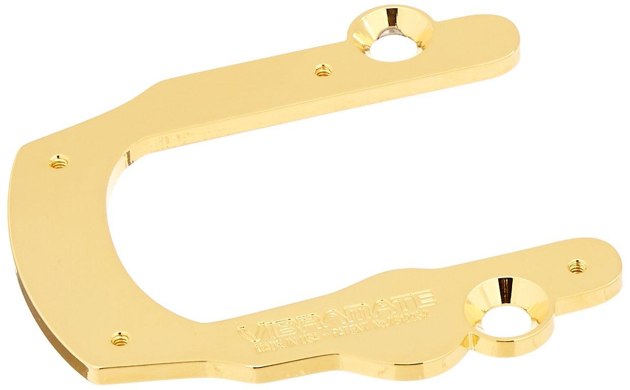 Vibramate V5 Quick Mounting Kit for Bigsby B5 Vibrato, Gold