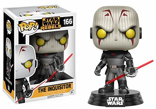 FUNKO POP STAR WARS REBELS WALMART EXCLUSIVE INQUISITOR Vinyl Action figure