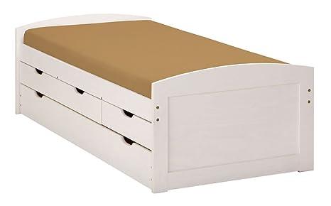Letti Contenitore Singoli : Esidra beals cassetti contenitore e secondo letto inferiore ad