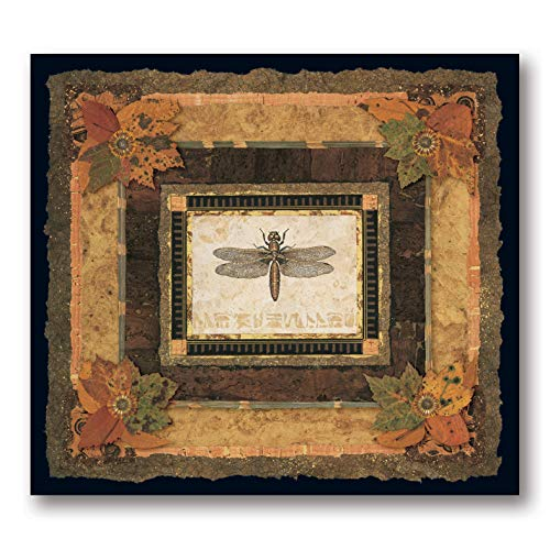Dragonfly I Beautiful Wild Awesome Retro Popular Dragonfly Cool Tree Classic Painting 20X18