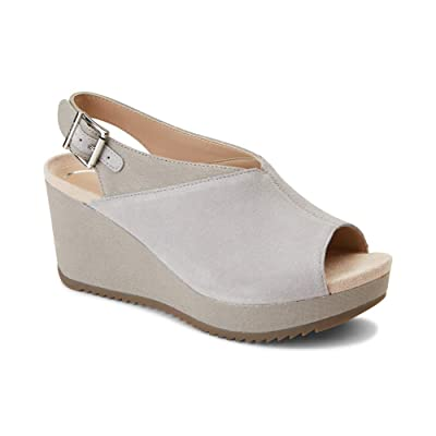 Vionic Women's Hoola Trixie Wedge - Ladies Concealed Orthotic Support Platform Sandal | Platforms & Wedges