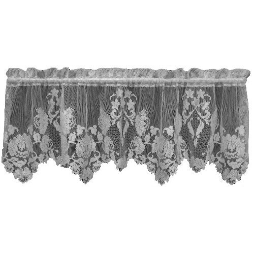 Heritage Lace Windsor 60-Inch Wide by 20-Inch Drop Valance, (Windsor Valance)