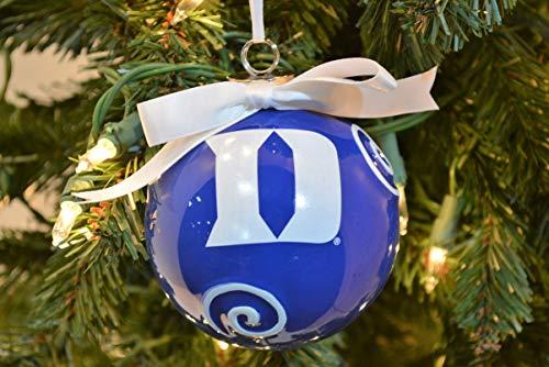 Duke Blue Devils Ceramic Ball Christmas Ornament