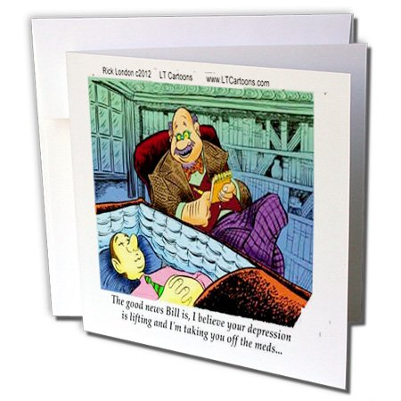 londons-times-offbeat-cartoons-psychiatry-quitting-prozac-funny-gifts-12-greeting-cards-with-envelop
