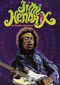 Jimi Hendrix en bandes dessinées par  Oliv'