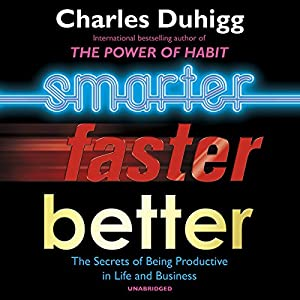Smarter Faster Better Audiobook