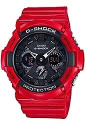 CASIO Men's watch G-SHOCK GA-201RD-4AJF