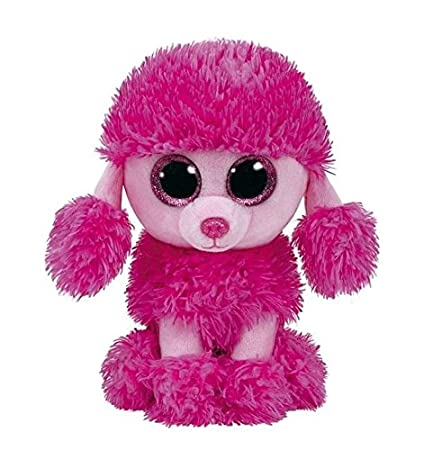 eed69c99621 Image Unavailable. Image not available for. Color  Ty Beanie Boos Patsy  Pink Poodle Dog ...
