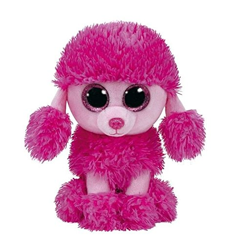 (Ty Beanie Boos Patsy Pink Poodle Dog 6